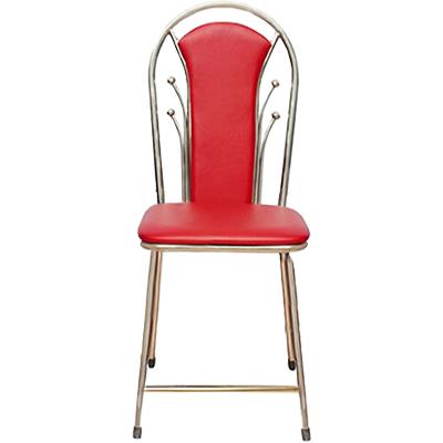 Ghế dựa inox đỏ bi – GTD-02