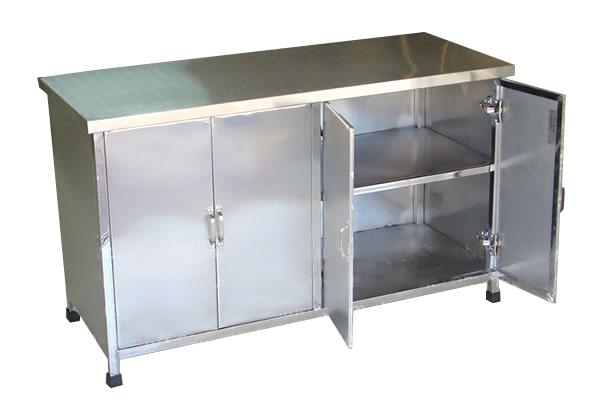 Tủ inox chén bát đĩa, xoong nồi-TB-04