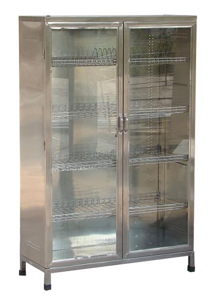 Tủ inox chén bát đĩa, xoong nồi-TB-05