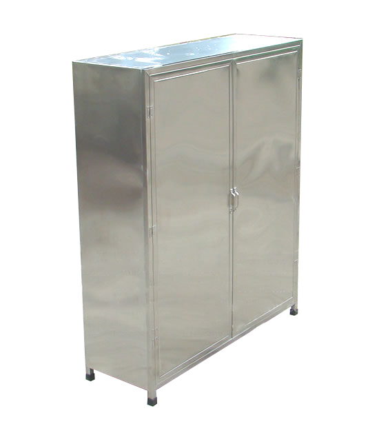 Tủ inox đựng bát đĩa, xoong nồi-TB-03