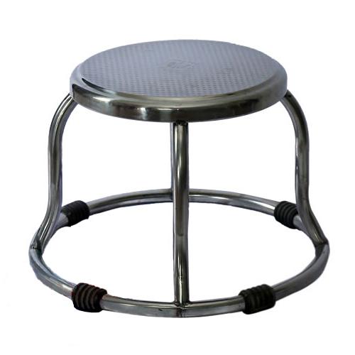 Ghế đẩu Inox thấp – GD-11