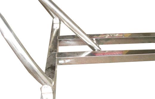Võng xếp INOX khung vuông 40 – VX-01