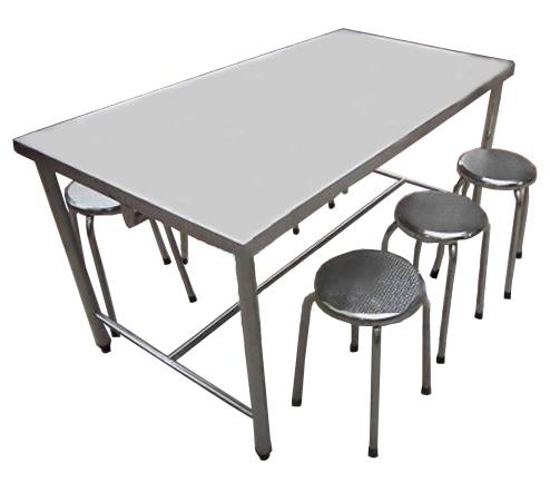 Bàn ghế Inox-BG-04